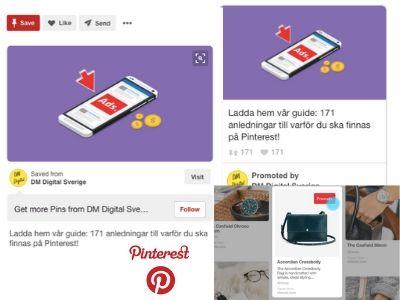 Annonsera på Pinterest