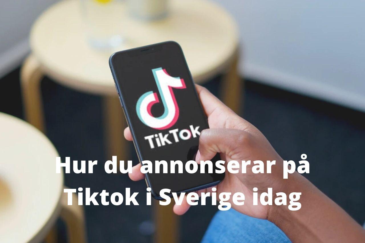 Annonsering på Tiktok